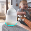 Flexy Silicone Baby Bottle 3 Pack, White - Bottles - 4
