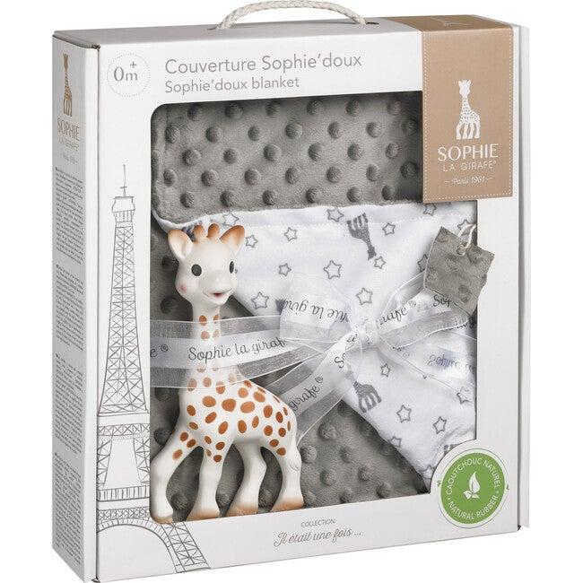 Sophie Baby Blanket Set, Grey/White