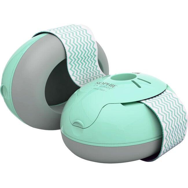Alpine Baby Ear Muffy, Mint/Grey - Headphones - 1