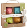 So'Pure Natural Rubber Cube & Ball Teether Set, Rainbow - Teethers - 7
