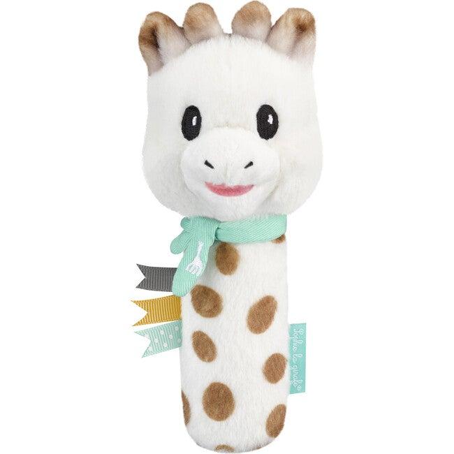 Plush Pouet Rattle, Giraffe