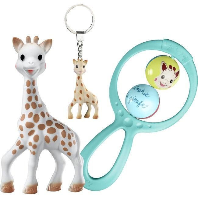 Il Était Une Fois Giraffe Gift Set, Blue