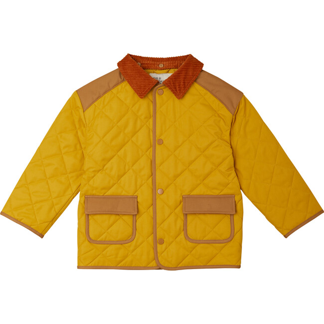 Quilted Jacket, Honey