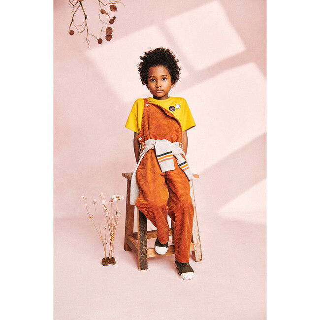 Corduory Overalls, Autumnal