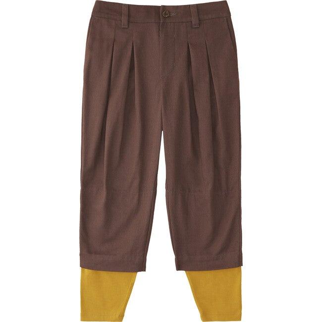 Plum Tapered Pants, Plum