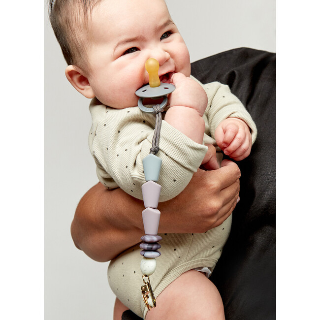 Pewter Pacifier Clip