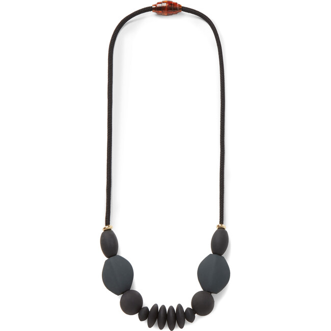 Charcoal Signature Teething Necklace