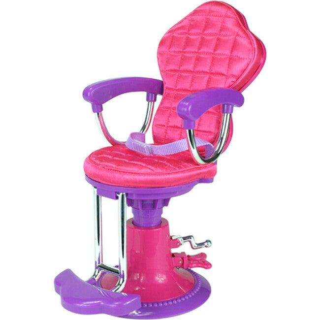 18'' Doll Salon Chair, Hot Pink