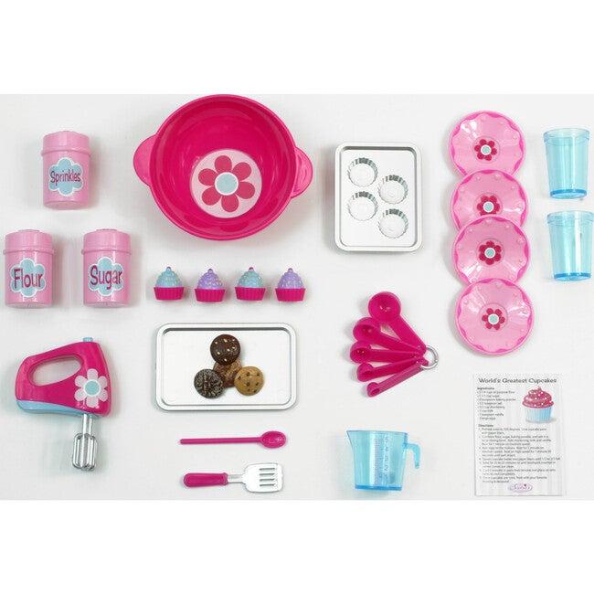 18'' Doll Baking Set, Pink