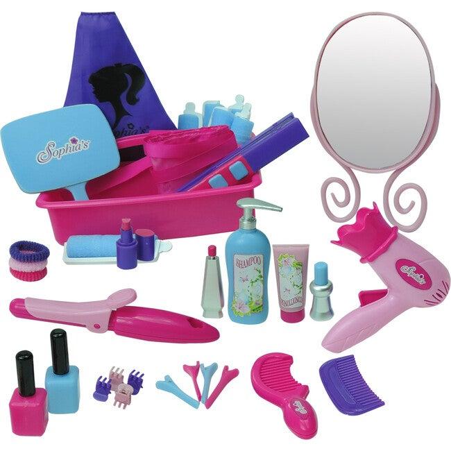 18'' Doll Hair Salon Set, Pink