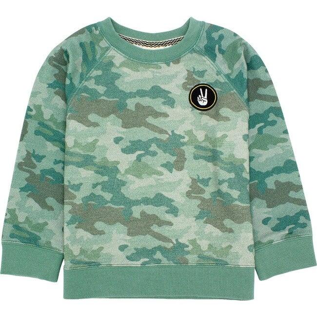 Bonfire Pullover Sweatshirt, Camo