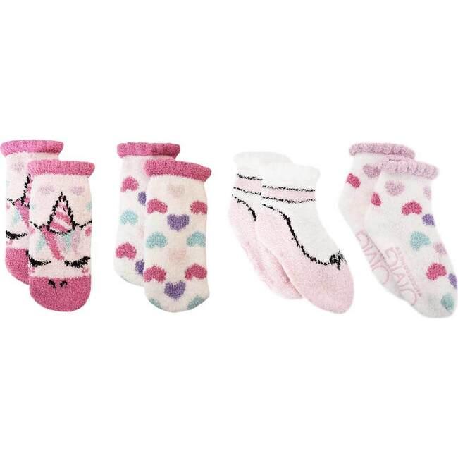 Miss Gwen & Ballerina Cozy Slipper Socks Set