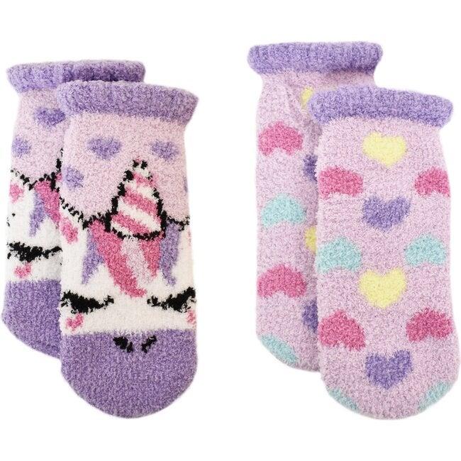 Gwen & Ballerina Cozy Slipper Socks Set