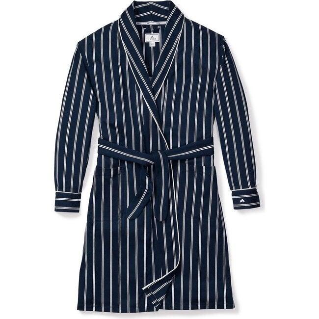 Women's Robe, Pinstripe