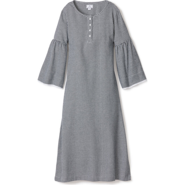 Women's Seraphina Nightgown, West End Houndstooth