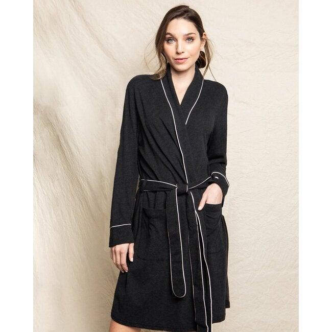 Women's Robe, Dark Heather