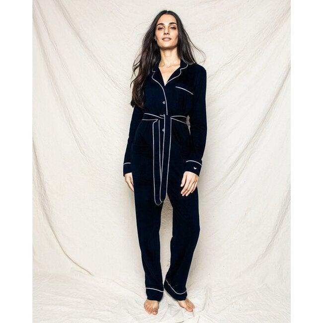 Women's Pima Jumpsuit, Black