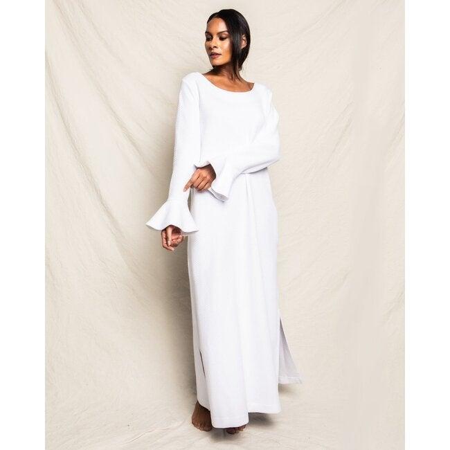 Women's Pima Ophelia Nightgown, Luxe Jacquard Pima