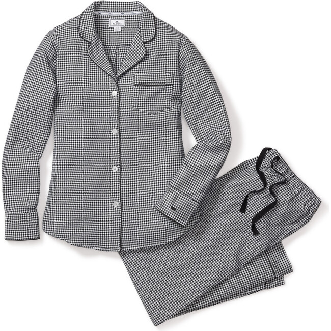 Women's Pajama Set, West End Houndstooth