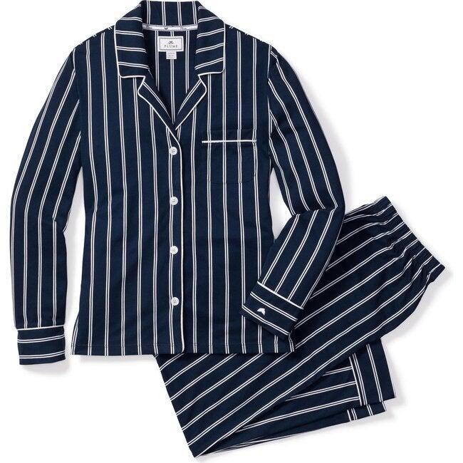 Women's Pajama Set, Pinstripe
