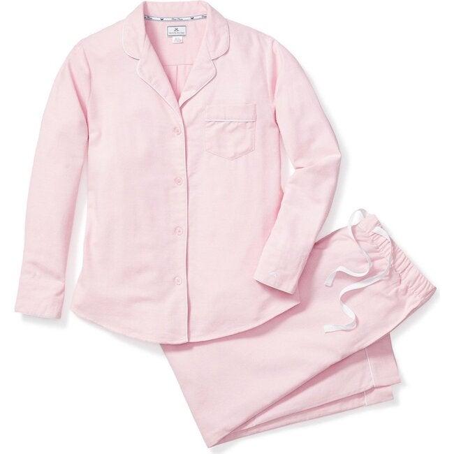 Women's Pajama Set, Pink Flannel