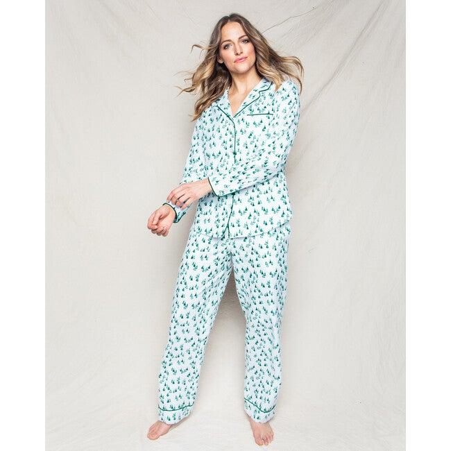 Women's Pajama Set, Evergreen Forest