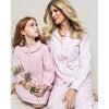 Women's Pajama Set, Blush Bouquet - Pajamas - 4