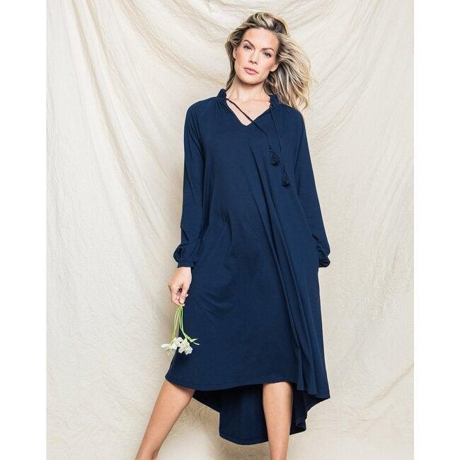 Women's Garbo Nightgown, Navy