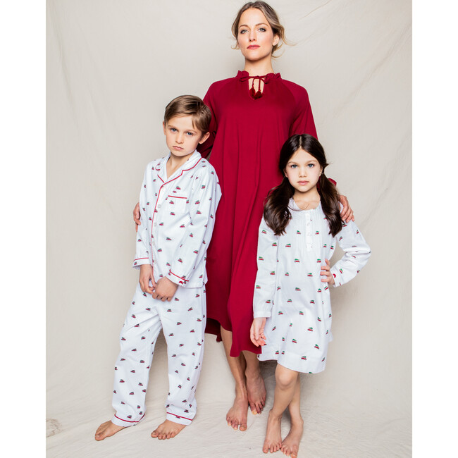 Women's Garbo Nightgown, Pima Bourdaux