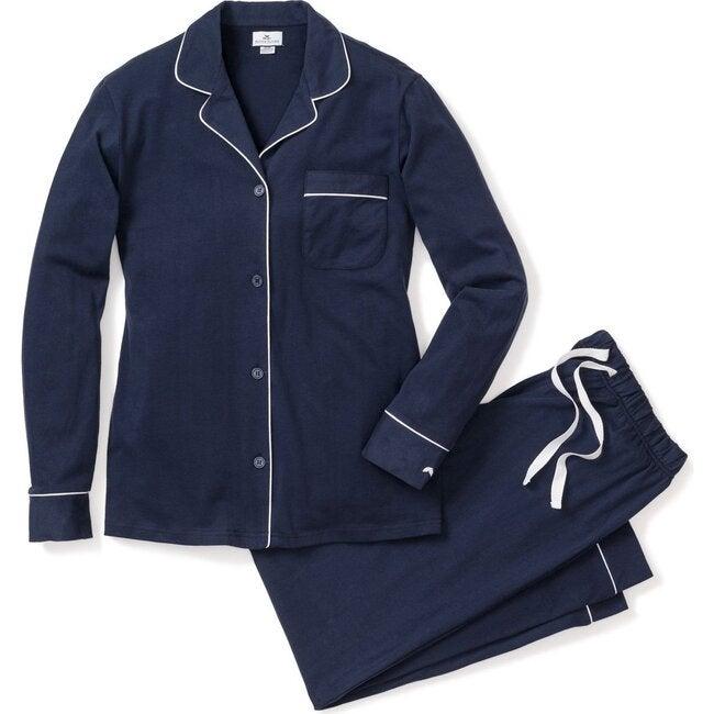 Women's Classic Pajama Set, Navy