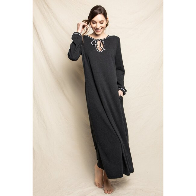 Women's Harlow Nightgown, Dark Heather