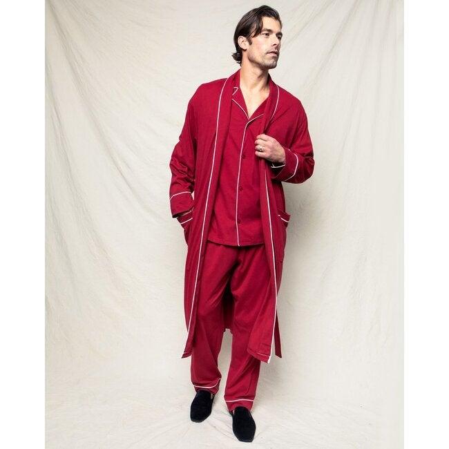 Men's Robe, Bordeaux