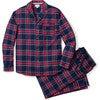 Men's Pajama Set, Windsor Tartan - Pajamas - 1 - thumbnail