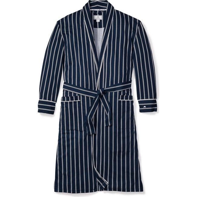 Men's Classic Robe, Pinstripe