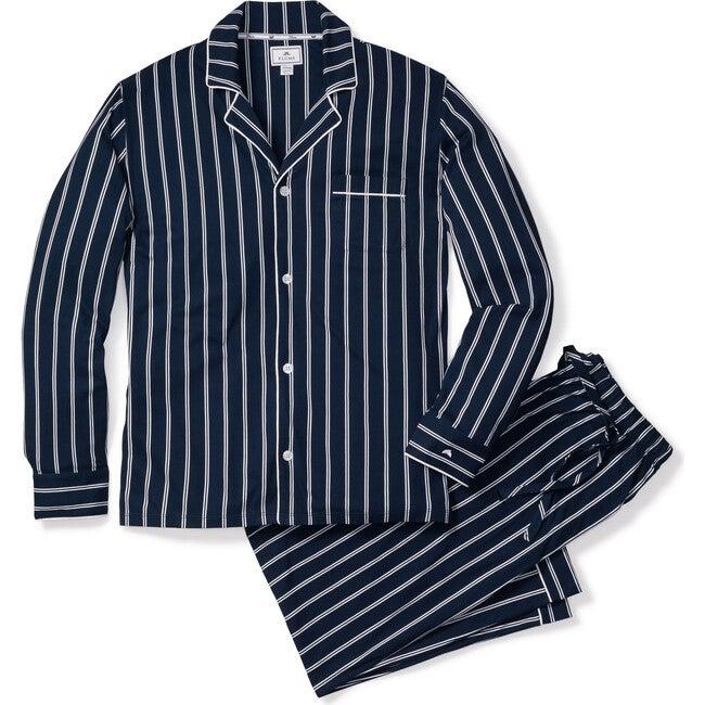 Men's Classic Pajama Set, Pinstripe