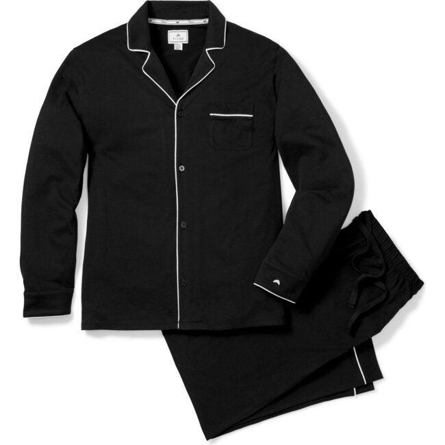 Men's Classic Pajama Set, Black