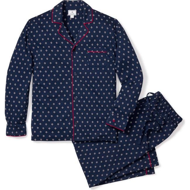 Men's Classic Pajama Set, Luxe Pima Foulard