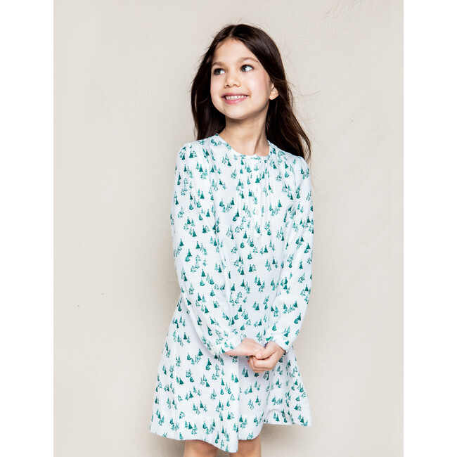 Beatrice Nightgown, Evergreen Forest