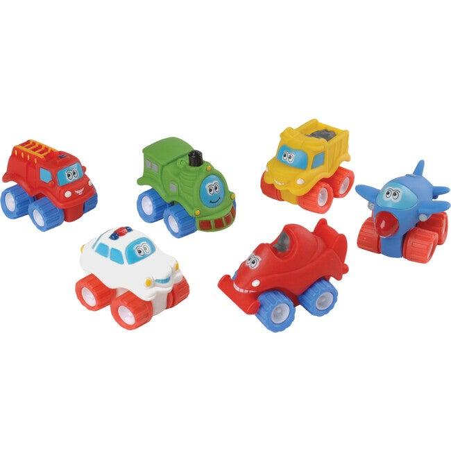 Toddler Tough Vehicles, Multicolor