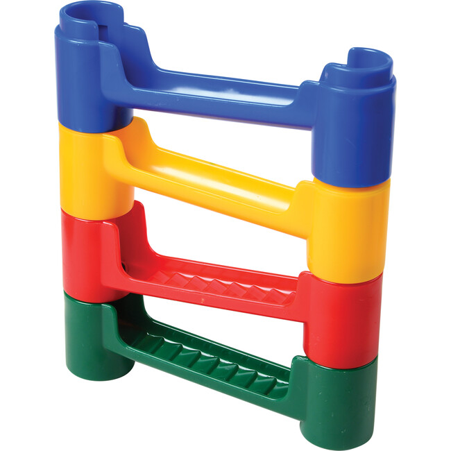 Build and Play Marble Run, Multicolor
