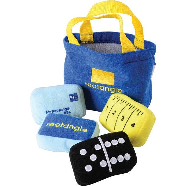 Soft Sorting Shape Bags, Blue
