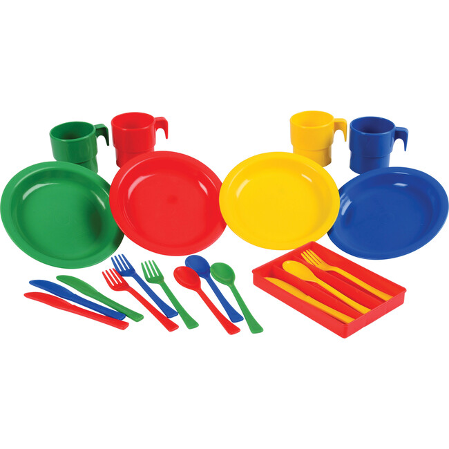 Indestructible Play Dishes, Multicolor