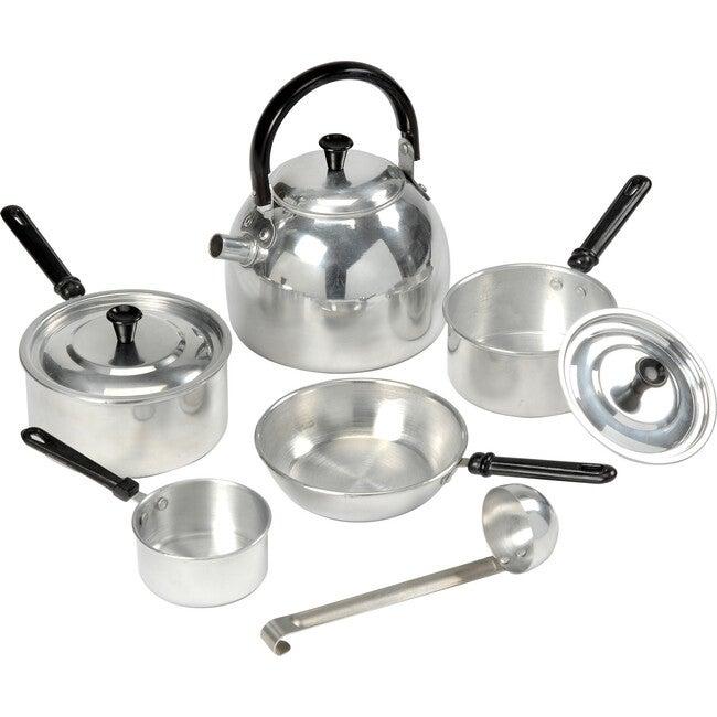 Child-Size Cooking Set, Grey