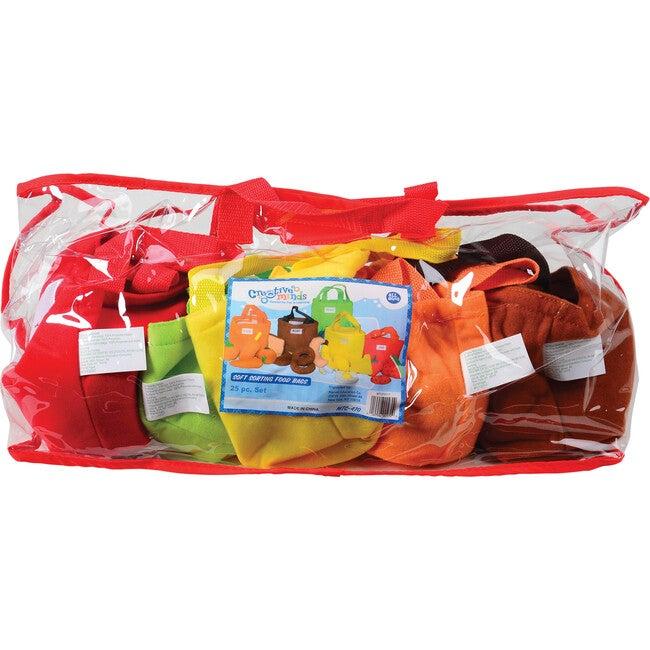 Soft Sorting Food Bags, Multicolor