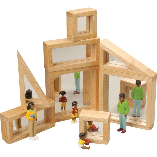 Mirrored Shaped Blocks, Tan
