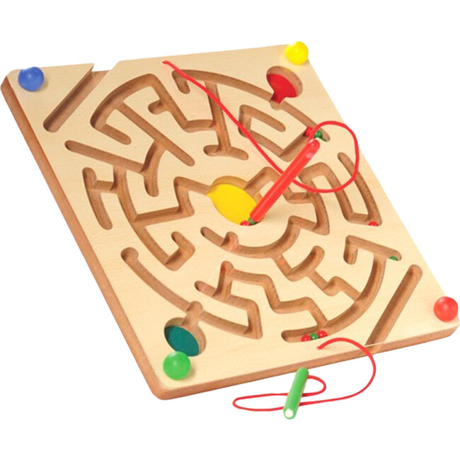 Magnetic Maze Board, Tan