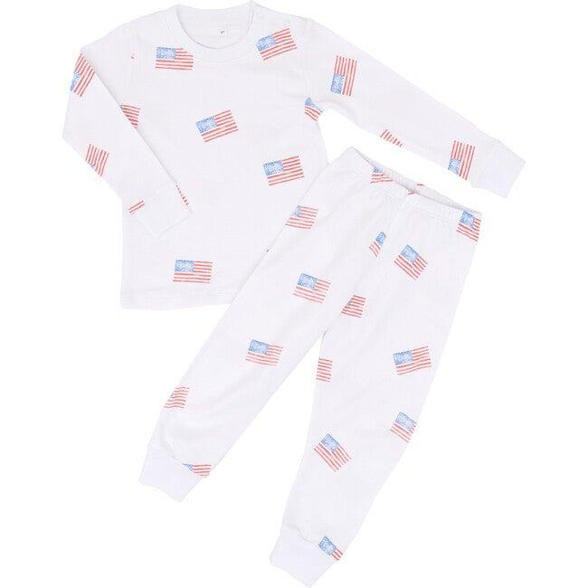 American Flag Two Piece Pajama