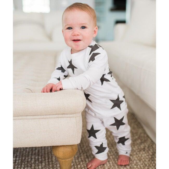 Bold Star Pajamas, Black