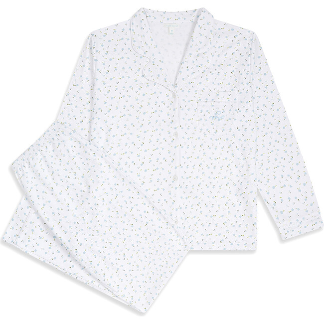 Bloom Wind Adult Pyjama, Blue