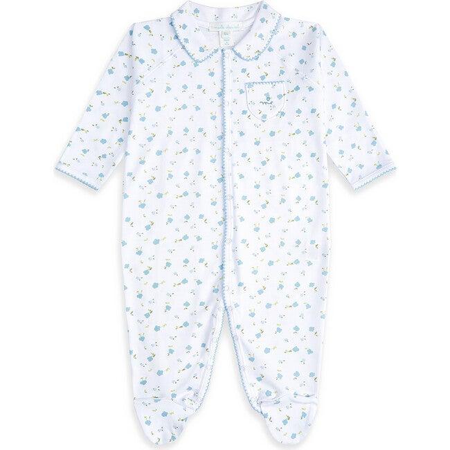 Bloom Wind Sleepsuit, Blue
